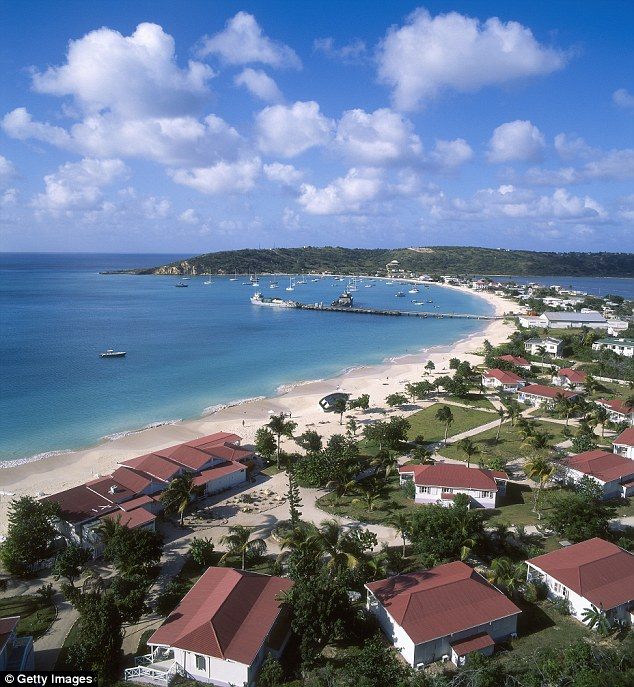 Mystery: Metro Options says disputes have to be dealt with in Anguilla (pictured)