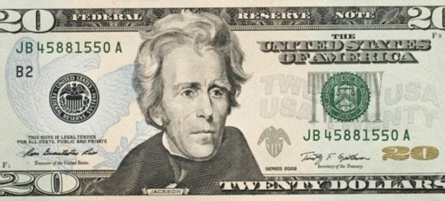 Currently, the $20 bill features the face of seventh US president Andrew Jackson, who became much maligned due to this treatment of Native Americans