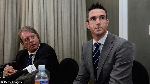 England cricketer Kevin Pietersen got into trouble over texts he sent insulting the captain Andrew Strauss