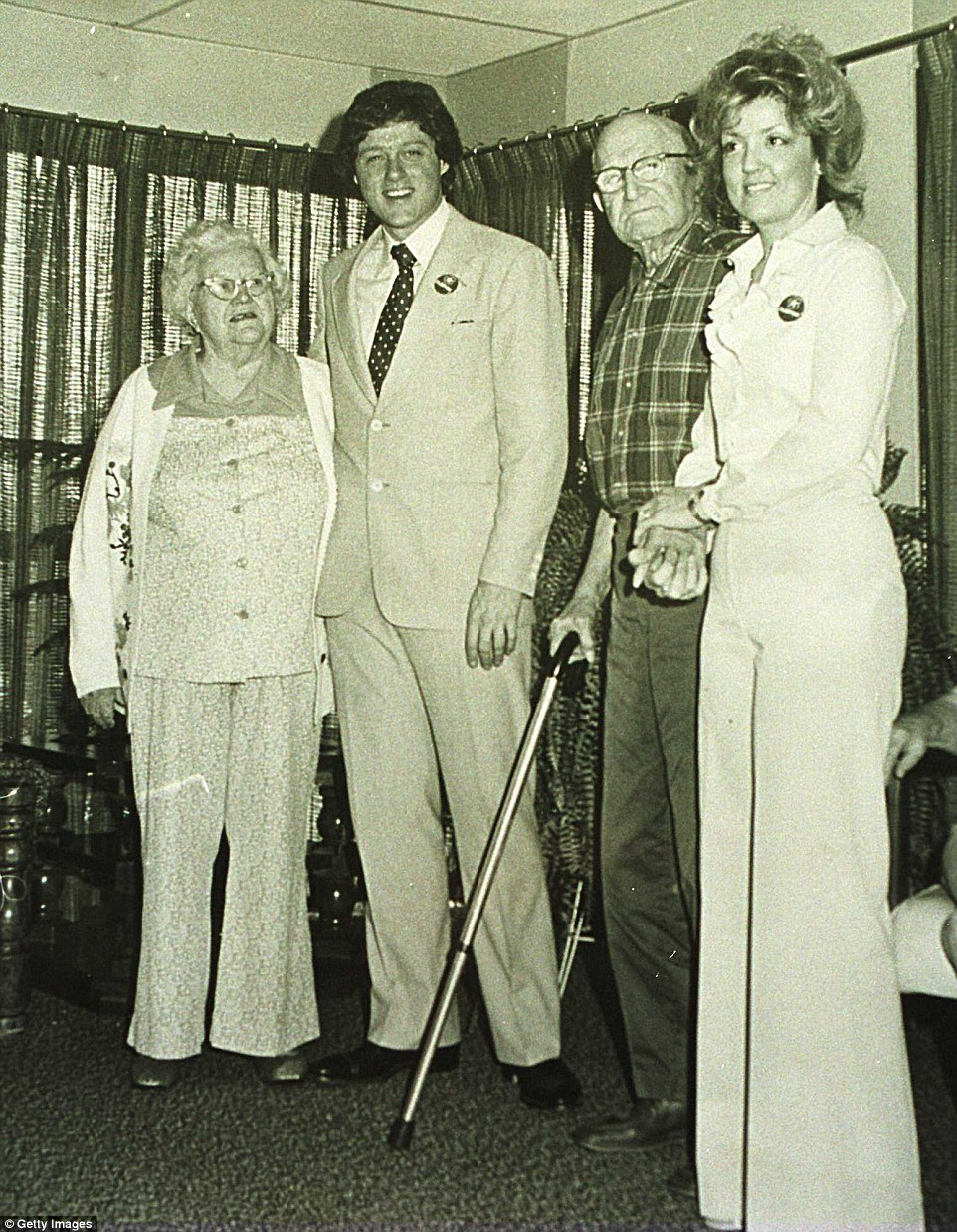 FLASHBACK: Juanita Broaddrick's encounter with Bill Clinton was in 1978, when this picture was taken