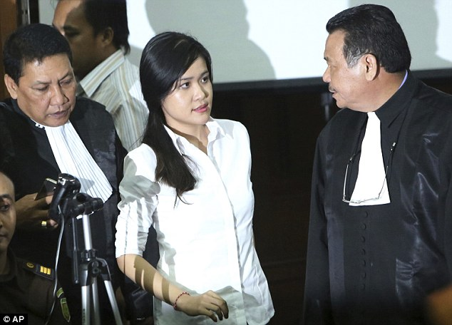 Wongso has denied the allegations that she murdered her friend