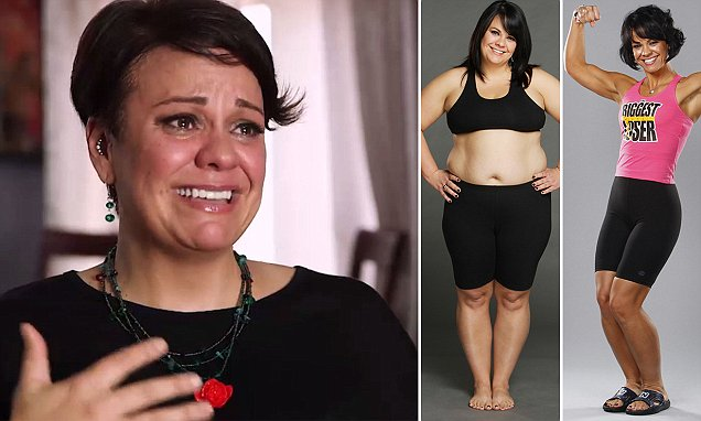 'I didn't want to deal with it': Biggest Loser winner who dropped 112lbs reveals that a