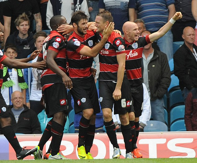 On the up: Hill wants to lead QPR back into the Premier League at the first attempt
