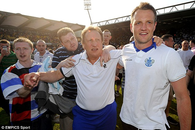 Bond: Hill played for Neil Warnock at Crystal Palace and QPR and said he was a great manager