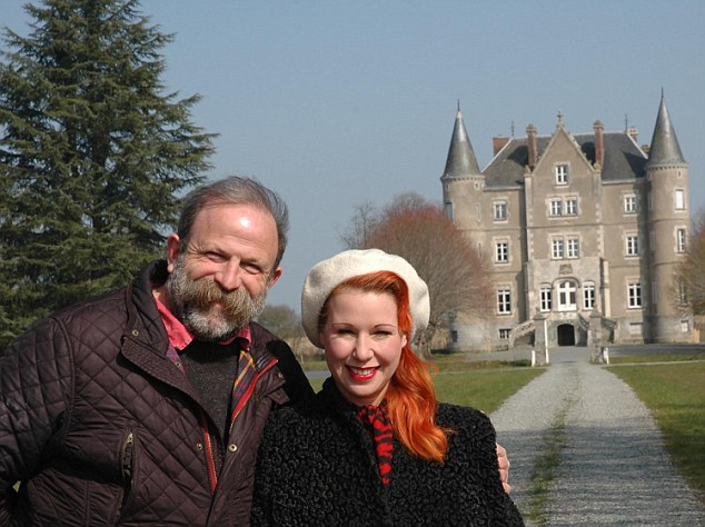 Dick Strawbridge and his partner Angel swapped their two bedroom flat in Essex for a €390,000 French chateau and are being followed in a Channel 4 programme