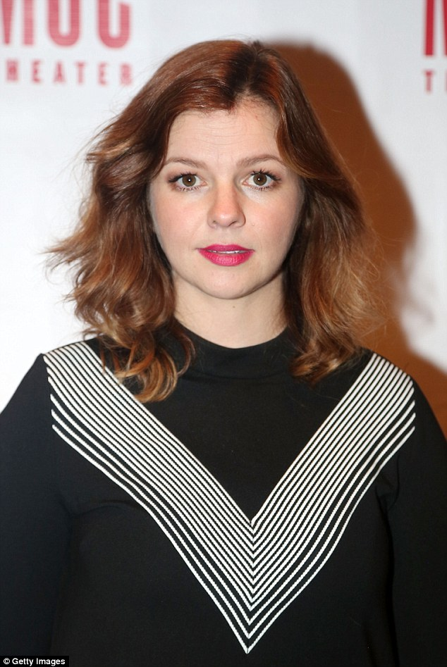Opening up: Actress Amber Tamblyn, 33, has recounted a horrific tale of sexual assault following the release of a recording showing Donald Trump making extremely lewd remarks
