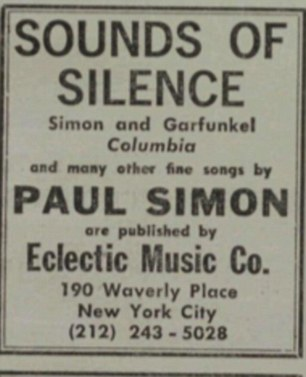 Simon prided himself on his song-writing abilities