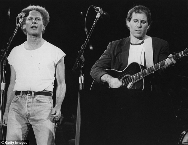 More jealousy soared when Simon took the spotlight and sang Bridge Over Troubled Water, which he wanted recognition for writing