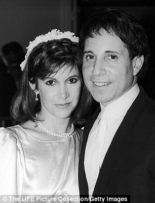 Simon married Carrie Fisher in 1983, only to divorce a year later and continue dating