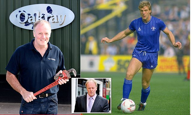 'I fit pipes for a living now': Former England and Chelsea striker Kerry Dixon is working