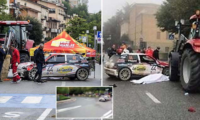 Spectator dies after rally car hits crowd in San Marino