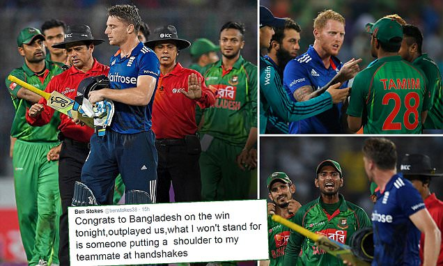 England captain Jos Buttler reprimanded by ICC after defeat by Bangladesh