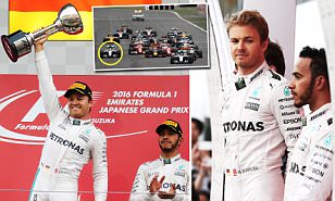 Lewis Hamilton needs F1 title miracle as blunder lets Nico Rosberg coast to Japanese Grand