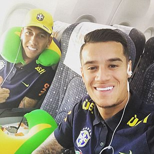 Liverpool star duo Philippe Coutinho and Roberto Firmino gear up for Venezuela away test