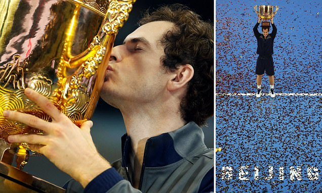 Andy Murray creeps closer to Novak Djokovic's No 1 spot after winning fifth title of the