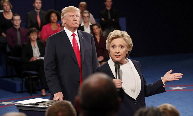 Donald Trump's attack on Clintons for their sexual past at 2nd presidential debate