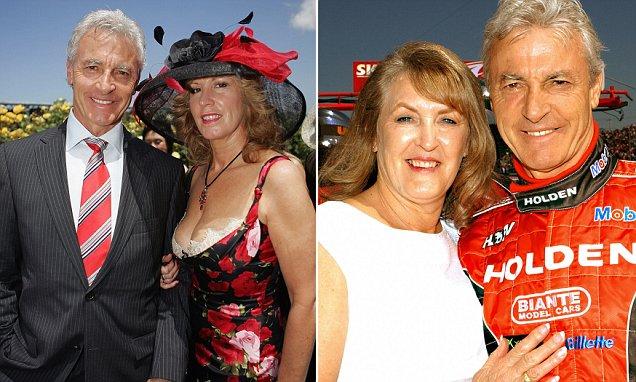 Peter Brock's mistress Julie Bamford reveals his partner knew about their long-running