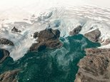 Greenland's highly unstable ice sheet is melting more than seven percent faster than previously thought, a study in Science Advances revealed ©Jeremy Harbeck (NASA Goddard/AFP/File)