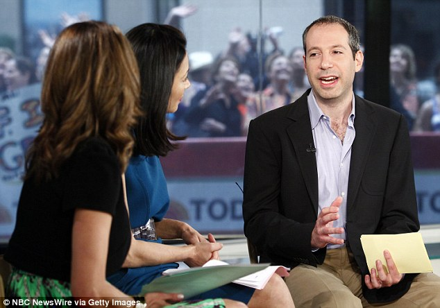 Today executive Noah Oppenheim (pictured) said Bush's comments were inexcusable