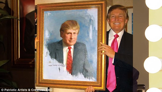'You had one eye in the mirror': The Republican presidential candidate appeared with self-portraits and in self-loving poses