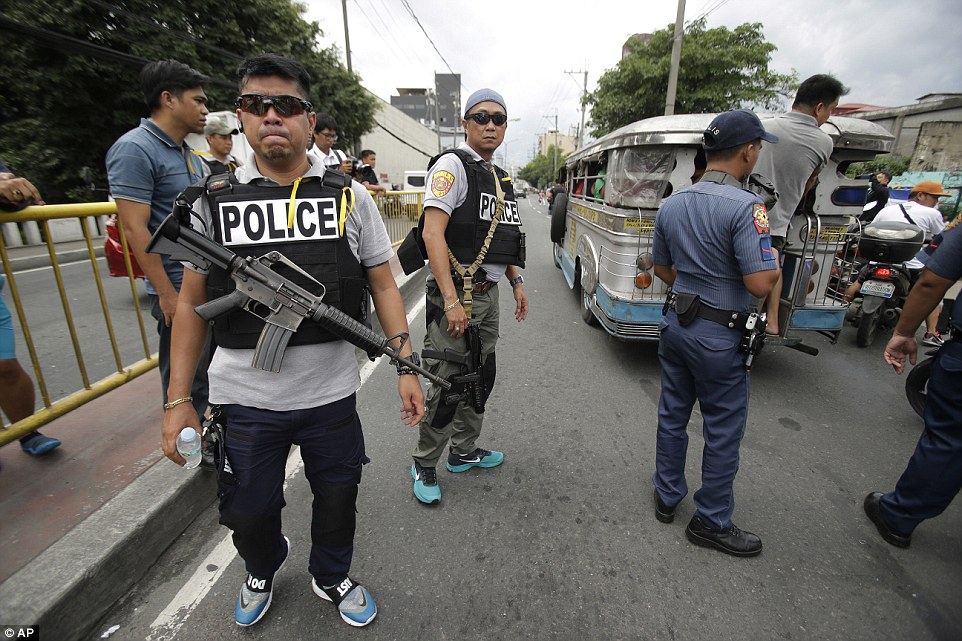 The Philippines' death toll has reached more than 3,700 in less than three monthsThe United Nations, the US, the European Union and the Catholic Church have all condemned the potential breach of human rights
