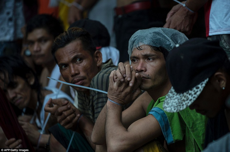 Terror has taken over the Philippines with more than 26,000 people arrested and 3,700 dead