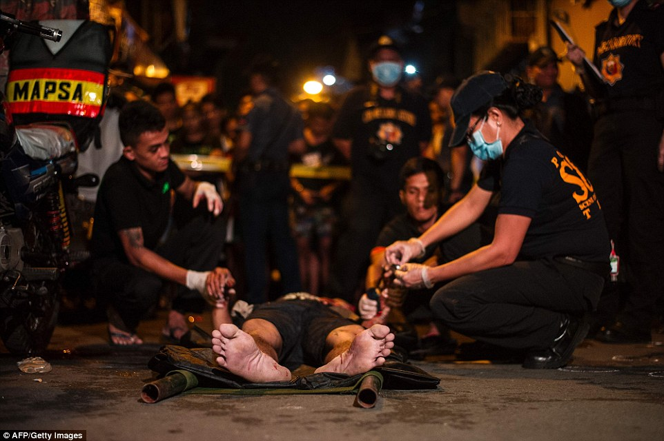 The unofficial death toll in the Philippines is reported to have reached 3,700 since the raids started just over 100 days ago