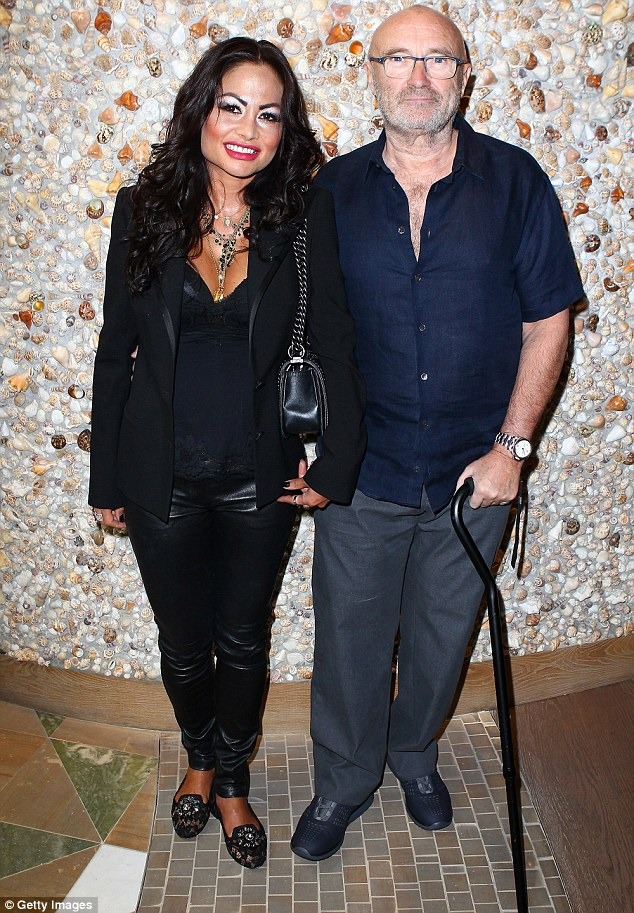 Phil Collins announced earlier this year that he was back with his third ex-wife, Orianne