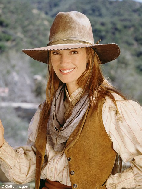 Jane Seymour as Dr. Michaela 'Mike' Quinn in Dr. Quinn, Medicine Woman: the Movie in 1999