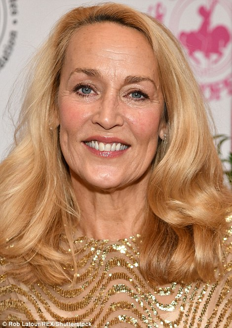 Jerry Hall is Mick Jagger's former consort and now newly wed to media billionaire Rupert Murdoch