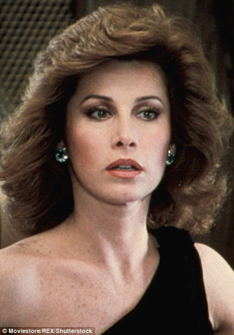 Stefanie Powers pictured in 1985