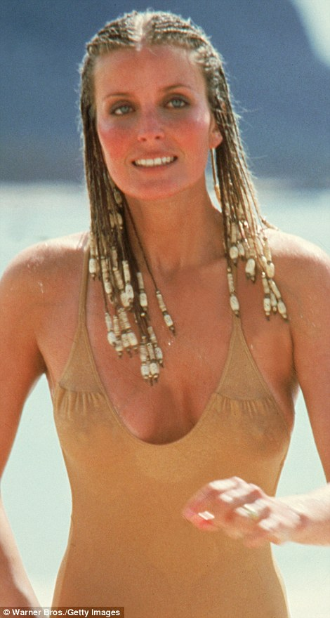 She found fame aged 22 as the 'Perfect 10' object of Dudley Moore's desire in the movie 10, but this weekend a natural Bo Derek — 60 next month — showed she's chosen to age gracefully when she took part in a swimming marathon in Greece