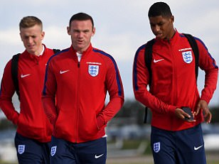 Wayne Rooney dropped from England starting XI against Slovenia