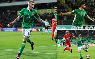 Moldova 1-3 Republic of Ireland: Martin O'Neill's side move joint top of 2018 World Cup