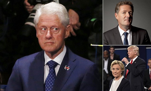 PIERS MORGAN: The night Bill Clinton and his loose zipper let Trump dodge the bullet that