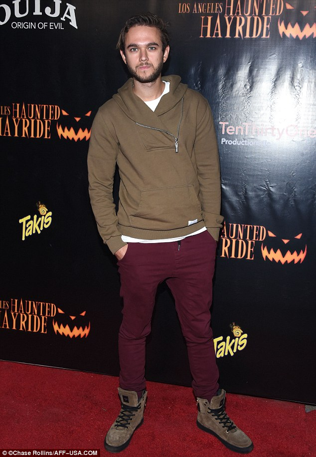 Hitmaker: EDM producer Zedd was dressed casually  at the event