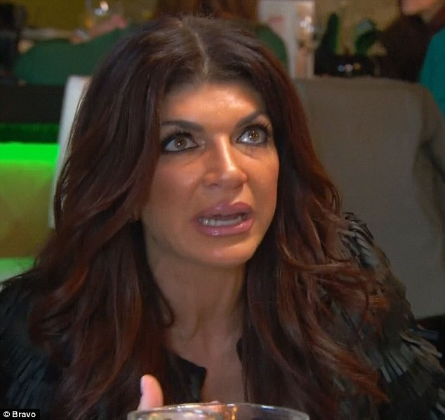 Friendship drama: Teresa Giudice continued to cope with friendship drama on Sunday's episode of The Real Housewives Of New Jersey after a disastrous trip to Vermont