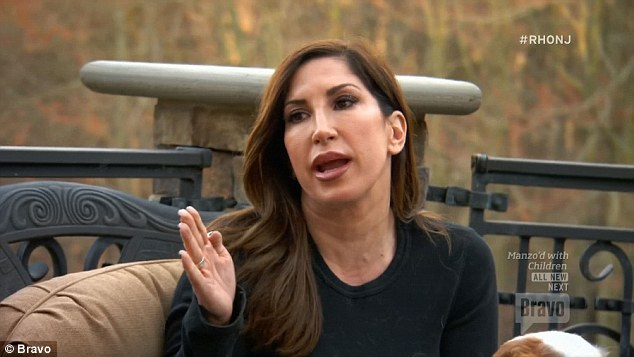 Over it: Jacqueline Laurita confirmed that her relationship with Teresa and Melissa Gorga was beyond repair