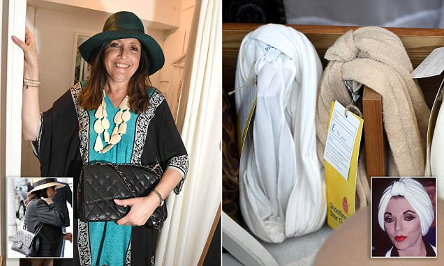 Joan Collins donates items to Shooting Star Chase charity shop including Chanel bag