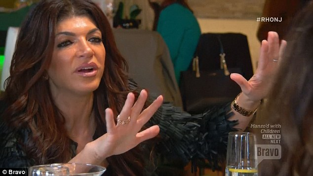 Hold on: Teresa pointed out that Jacqueline probably invited Kim into their lives