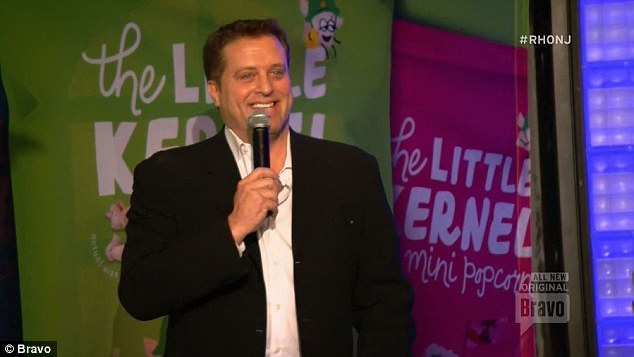 Popcorn launch: Chris Laurita during his popcorn launch revealed that daughter Ashlee was pregnant
