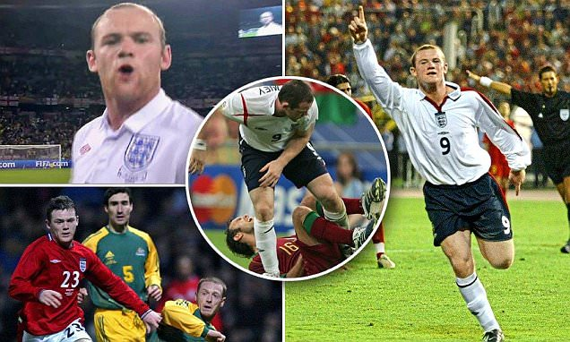 Wayne Rooney's best and worst moments in an England shirt