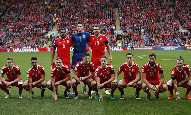 Gag's on you, lads! Wales pose for another hideous team photo but Georgia derail hosts'