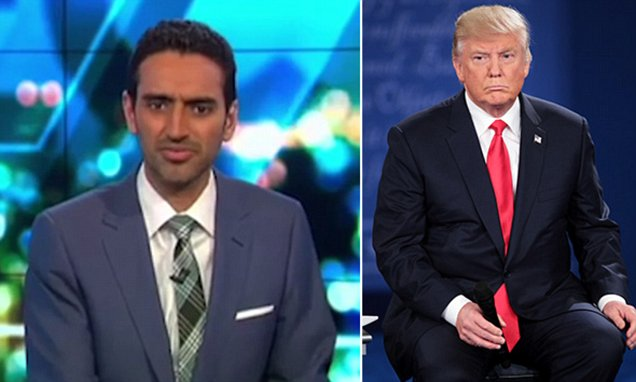 The Project's Waleed Aly slams Donald Trump's 'predatory nature and sexism' in editorial