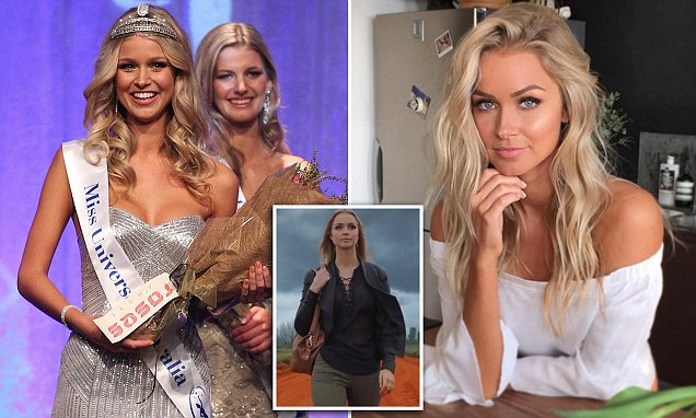 Former Miss Universe Renae Ayris said she's been spat on by Indigenous Australians in