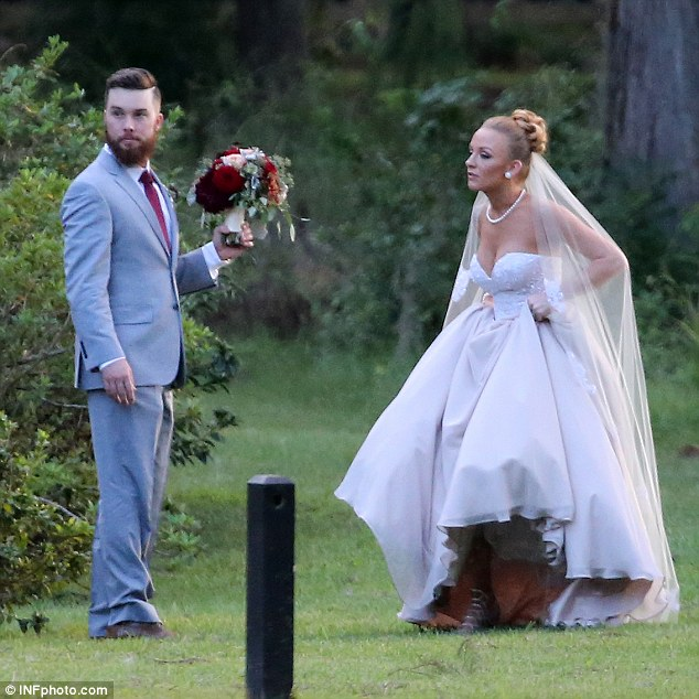 Hitched! The couple of four years have two children together, daughter Jayde and son Maverick