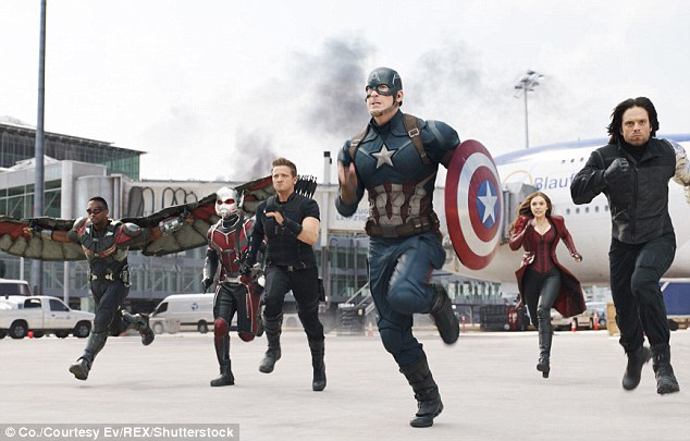 Disney hits: The Pixar flick is the third movie to move past the $1 billion mark. Marvel's Captain America: Civil War grossed $1.153 billion