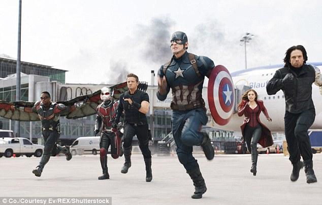 Disney hits: The Pixar flick is the third movie to move past the $1 billion mark. Marvel's Captain America: Civil War grossed $1.153 billion