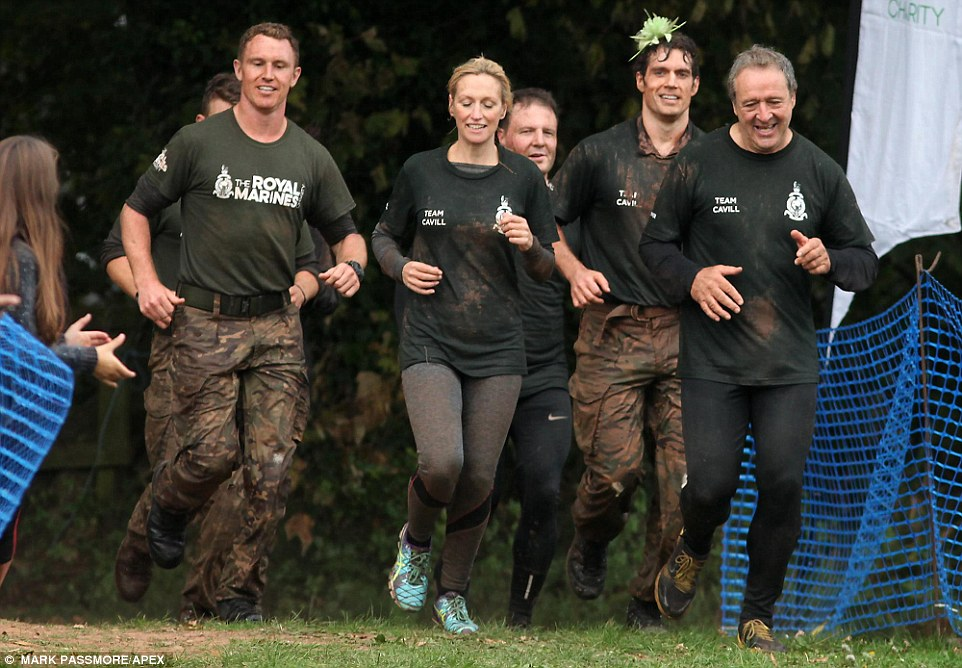 Gruelling: The course features tunnels, pipes, wading pools and an underwater culvert called the sheep dip - an obstacle so tough that even the Royal Marines have nightmares about it