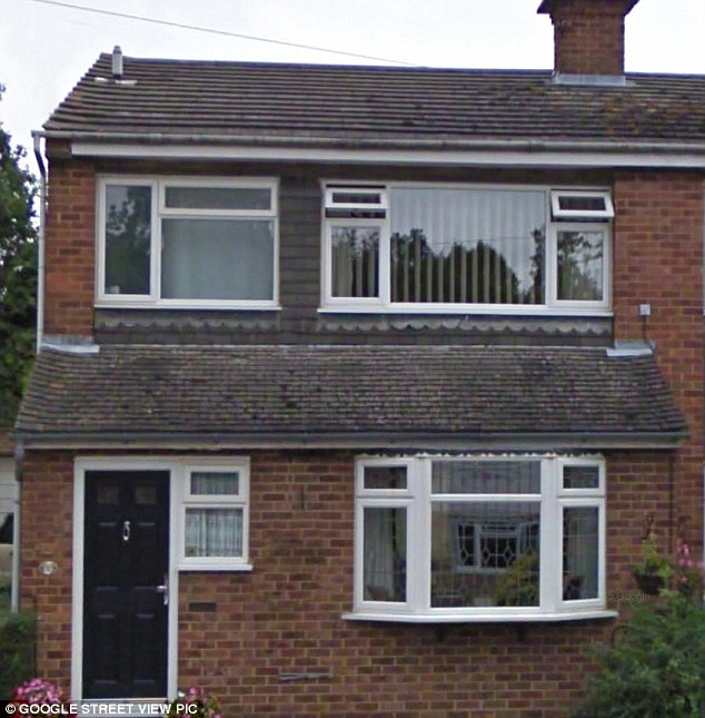 Humble beginnings: The property is worlds away from his childhood semi-detached home in Hazlemere, High Wycombe